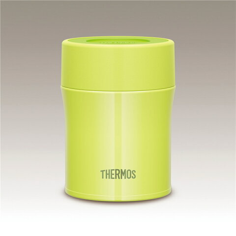 THERMOS サーモス 【保温・保冷】ステンレス魔法びんと同じ高い保温・保冷力の真空断熱スープジャー(500ml/0.5L) [JBM-500/G-グリーン]