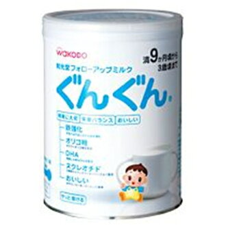 Wako follow up milk steadily ( aged around 9 months-3 years around until ) 850 g