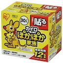 アイリスオーヤマ ぽかぽか家族 貼るタイプ レギュラー(カイロ) 30個入