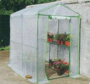 ビニール温室 大型温室ビックグリーン ビニールハウス OST2-BIG フラワースタンド