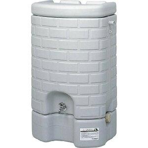 サンコー 雨水タンクセット 200L グレー 【C】【代引不可】