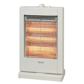 TEKNOS technos straight tube type halogen heater 1200 W white PH-1211 (W)