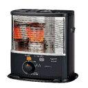 石油ストーブ 灯油 反射式 暖房機器 コロナ 木造8畳 最大10畳 電源不要 黒色メッシュガード