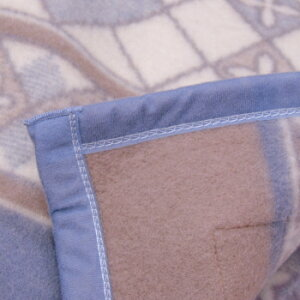ウール毛布ニッケシングルサイズ