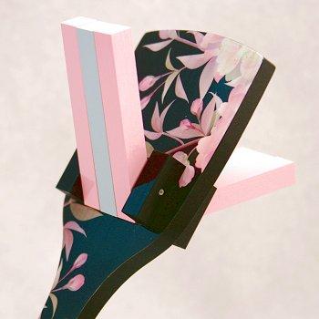 花鳴子(よさこい鳴子)「十六夜桜」