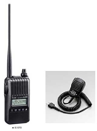 家電, その他 (ICOM) IC-S70 144430MHzHM-186 SP