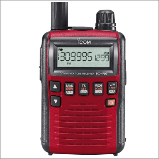 無線・トランシーバー, 受信機・レシーバー (ICOM) IC-R6 mini!