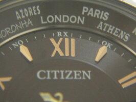 CITIZENシチズンXCクロスシーレディースウォッチ腕時計ハッピーフライトショコラケーキエコドライブソーラー電波1PダイヤH246-T024726【中古】