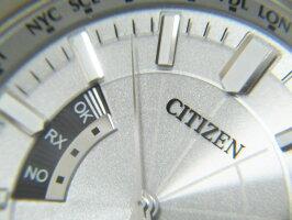 CITIZENシチズンEco-Driveエコドライブメンズウォッチ腕時計ソーラー電波H145-S073545【中古】