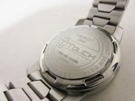 TISSOTティソTタッチTTOUCH腕時計メンズウォッチステンレスデジアナTKQ-OR-103580Z252/352【中古】