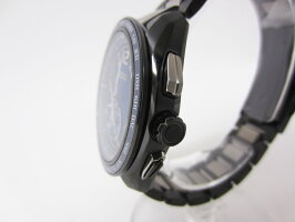 SEIKOセイコーBRIGHTZブライツメンズウォッチ腕時計ソーラー電波時計ブルー文字盤チタン8B63-0AS0超美品【中古】