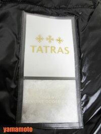TATRASタトラスレディーストレンチコートETNAライナー付きダウンジャケットブラック01LTA16S4524美品【中古】