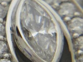 HARRYWINSTONHWハリーウィンストンリリークラスターネックレスダイヤペンダントマーキースPt950美品【中古】