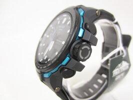 CASIOカシオPROTREKプロトレックトリプルセンサータフソーラー電波腕時計メンズウォッチPRW-6100Y-1AJF美品【中古】