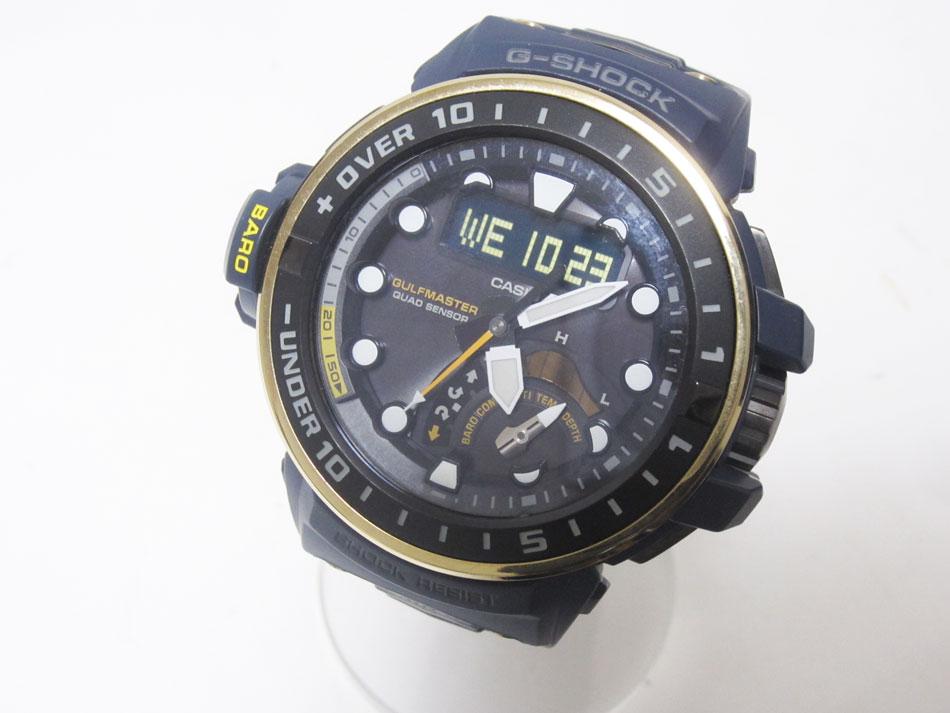 腕時計, メンズ腕時計 CASIO G-SHOCK G GULFMASTER GWN-Q1000NV-2AJF