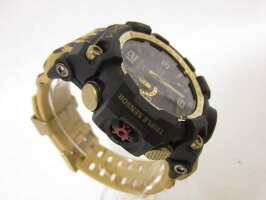 CASIOカシオMUDMASTERマッドマスタータフソーラー電波腕時計メンズウォッチWILDLIFEPROMISINGコラボレーションGWG-1000WLP-1AJR新品同様【中古】