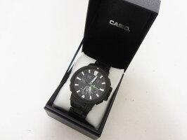 CASIOカシオPROTREKプロトレック電波ソーラーメンズウォッチ腕時計タフソーラーPRW-7000FC-1JF美品【中古】