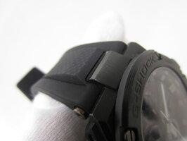 CASIOカシオG-STEELGスチールBluetooth搭載タフネスクロノグラフメンズウォッチ腕時計タフソーラーGST-B100X-1AJF美品【中古】