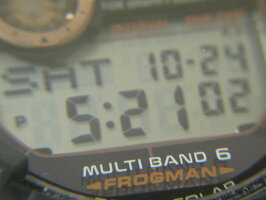 CASIOカシオG-SHOCKGショックFROGMANフロッグマンマスターオブGメンズウォッチ腕時計タフソーラーローズゴールドGWF-1000B-1JR【中古】