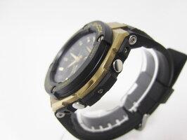 CASIOカシオG-STEELGスチール電波ソーラーメンズウォッチ腕時計タフソーラーミドルサイズGST-W300G-1A9JF美品【中古】