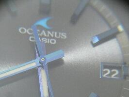 CASIOカシオOCEANUSオシアナスCACHALOTメンズウォッチ腕時計タフソーラー電波メタルバンドOCW-T200SB-1AJF超美品【中古】