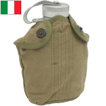 セール中 イタリア軍 アルミキャンティーンセット カバー付き USED