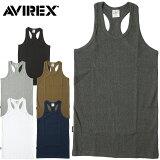 1点ならメール便送料無料 AVIREX #6143503 デイリーシリーズ リブタンクトップ メンズ 6色 S-XL