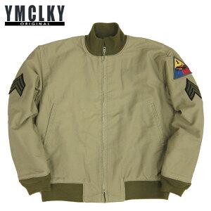 ◆送料無料◆1942年モデル アメリカ軍YMCLKYオリジナル WW2 米軍タイプ タンカースジャケット ...