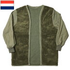 セール中 オランダ軍 ボア コートライナー オリーブ デッドストック
