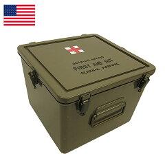 アメリカ軍/米軍 GI US ミリタリー 箱米軍 メディカル プラスティックボックス デッドストック