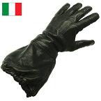 1点ならメール便可 イタリア軍 モーターサイクルグローブ デッドストック