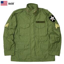 YMCLKYオリジナル 米軍タイプ M-65 フィールドジャケット ジョンレノンModel【オリーブ】【送料無料・沖縄・離島除く】