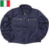 イタリア軍 AF ワークジャケット ネイビー デッドストック