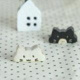 【メール便対応】のんびり猫 箸置き 白猫