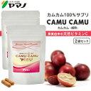 【公式】カムカム-junsui-(純粋) 60カプセル入り×2袋 カムカムパウダー 天然ビタミンC サプリ ビタミンc サプリメント