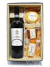 【送料無料】【要冷蔵】【イタリア赤ワイン・おつまみセット】アリアニコ・デル・ヴルトゥレ750ml+いぶしチーズ3個セット【チーズセット】【スモークチーズ】【父の日・お中元】
