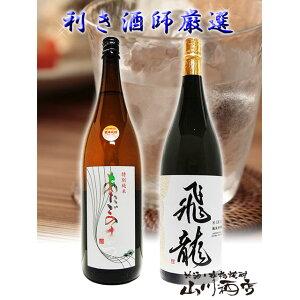 Hiryu Junmai Daiginjo + Atago no Matsu (Atago no Matsu) Special Junmai 1.8L × 2 bottles set [4263] [Sake] [Cold refrigeration] [Free shipping] [Mother's Day gift gift gift]