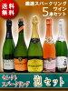 【送料無料】【スパークリングワイン】厳選スパークリングワイン泡セット(750ml×5本)【5本セット】【RCP】