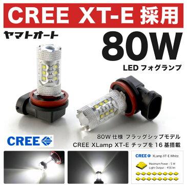 【CREE 80W】ACM20系 イプサム後期 [H15.10〜]80W LED フォグ ランプ HB42個セット 【CREE XT-E 採用】バルブ デイライト トヨタ 最上級 フラッグシップモデル 【10P19Dec15】