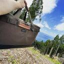 マルチギアコンテナ 約68L ソフトコンテナ 折りたたみ可 アウトドアバッグ キャンプバッグ アルバートル正規品 (AL-OB100)3色