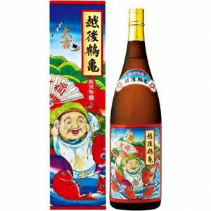 【5,000円以上】【ケース品】越後鶴亀 招福神 純米吟醸 1800ml 6本入り
