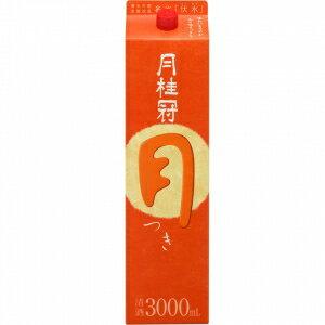 【送料別途ご案内】月桂冠 月 3L 紙パック