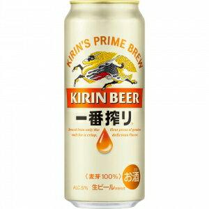 【5,000円以上送料無料】【ケース品】キリン 一番搾り 生ビール 500ml 24本入り