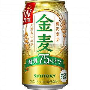 【5,000円以上送料無料】【ケース品】サントリー 金麦 糖質オフ 350ml 24本入り