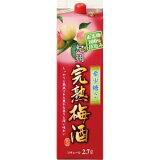 【5,000円以上送料無料】紀の司酒造 紀州完熟梅酒 稀少糖使用 2700ml 8度