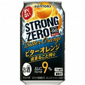 【5,000円以上送料無料】【ケース品】サントリー -196℃ストロングゼロ ビターオレンジ 350ml 9度 24本入り