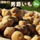 じゃがいも 男爵 M/LM混 3kg 訳あり 北海道 ジャガイモ 送料無料 男爵いも 男爵イモ 男爵芋 お取り寄せ 食べ物 食品 通販