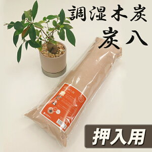 炭八 押入用(棒タイプ)1個 湿気対策 除湿 消臭に効果的!