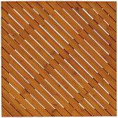 タカショー デッキパネル 「デザインデッキアロー 90×90cm」 ≪4枚セット≫ ウッドデッキ・ウッドパネル