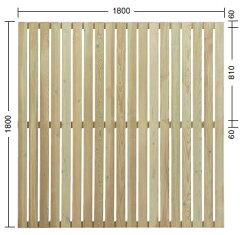 【送料無料!】タカショー e-ウッドフェンス「e-ウッドパネル13型(板塀) ※別注塗装 ホワ...